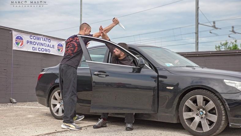 Krav Maga Como – car rage 2015